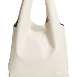 Handbags - Leather shopping bag tote w  matching wallet NWT